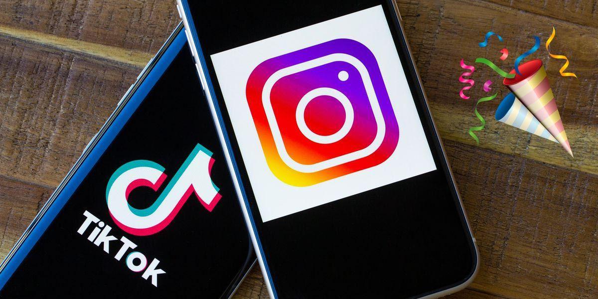 TikTok ya tiene los mismos usuarios que Instagram