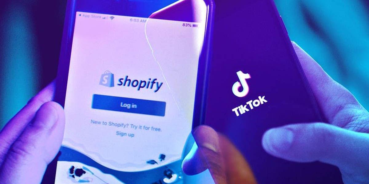 Tiktok tiendas shopify