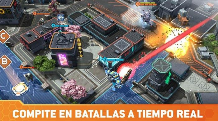 Titanfall assault compite en batallas a tiempo real