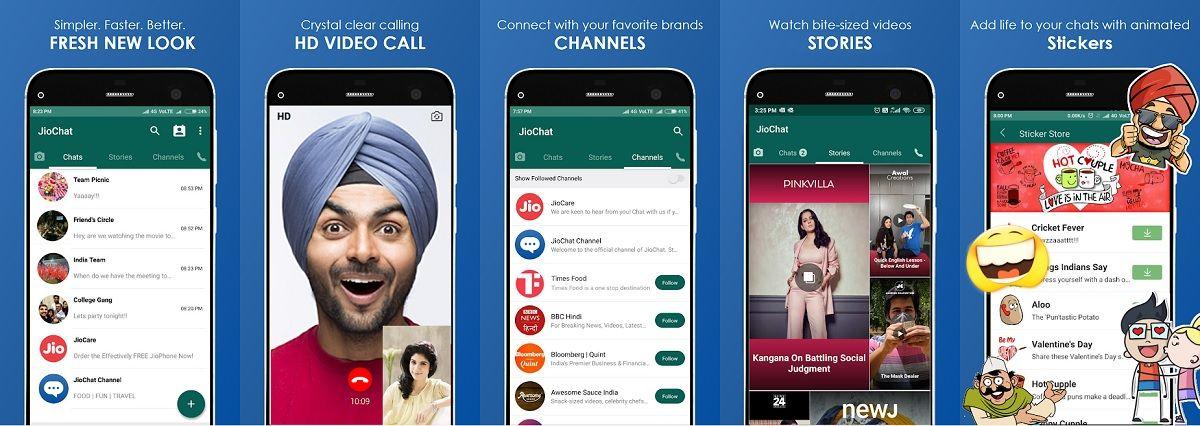 Toda la informacion sobre JioChat, el nuevo clon de WhatsApp
