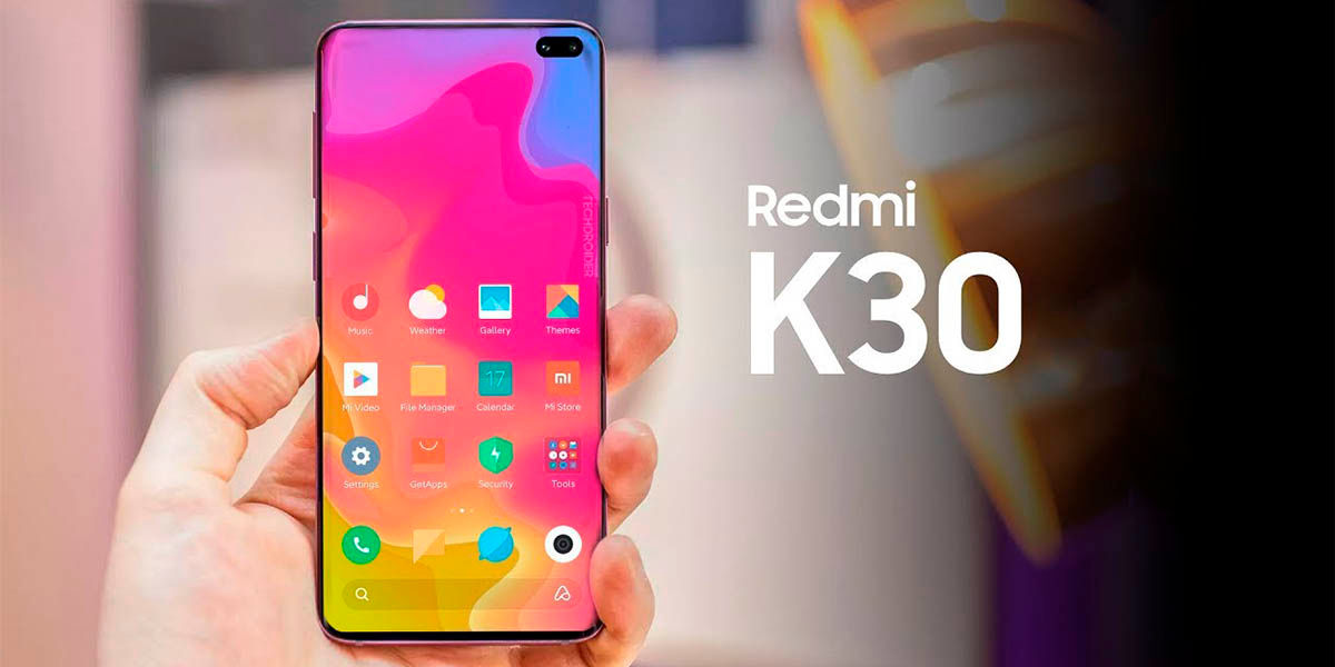 Todas las especificaciones del Xiaomi Redmi K30