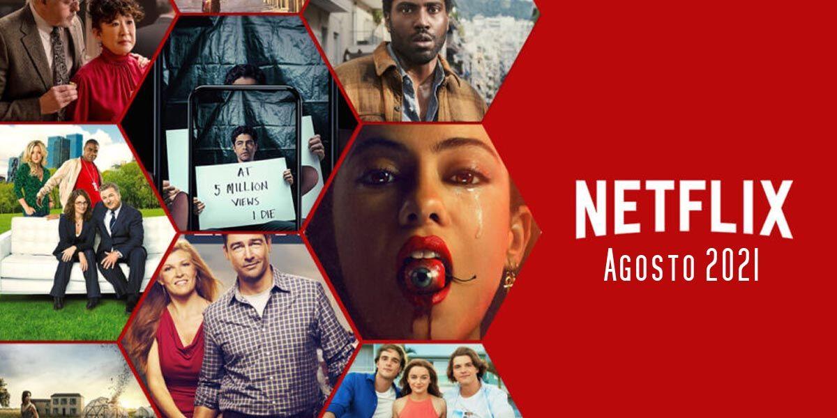 Todas las películas, series y documentales nuevos en Netflix en agosto de 2021