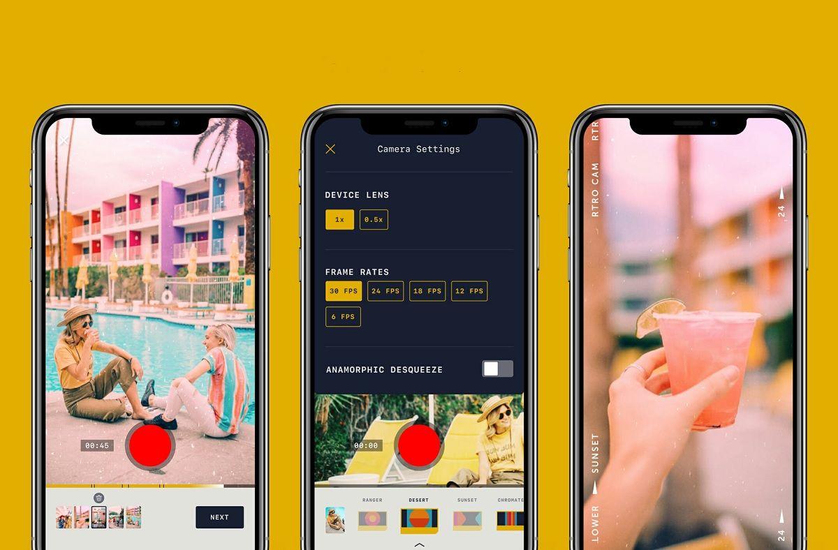 Todo lo que tienes que saber sobre RTRO, la nueva app para grabar videos vintage
