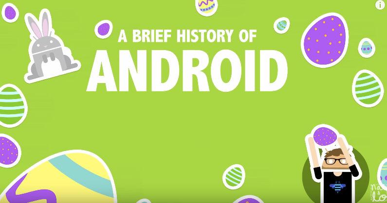 Todos los Easter Egg de Android en vídeo