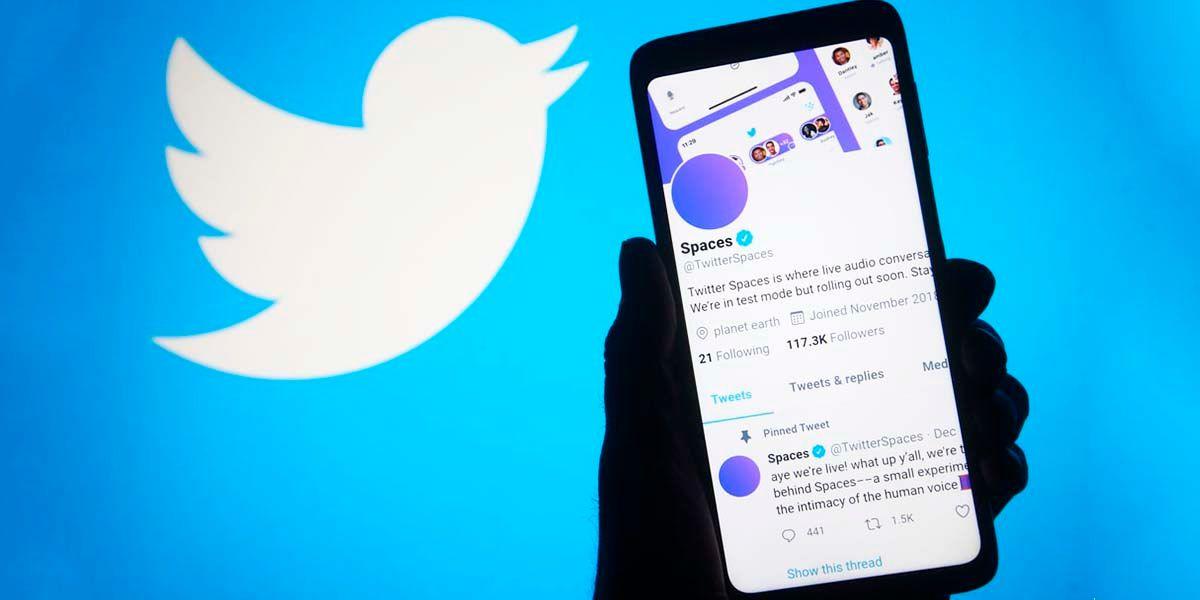 Todos usuarios pueden crear Espacios de Twitter Android iPhone