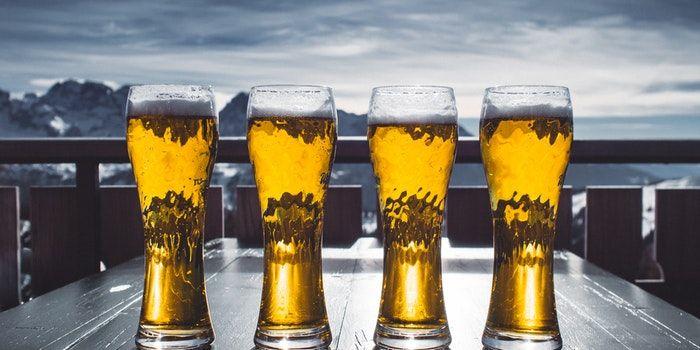 Tomar cerveza es bueno para la salud