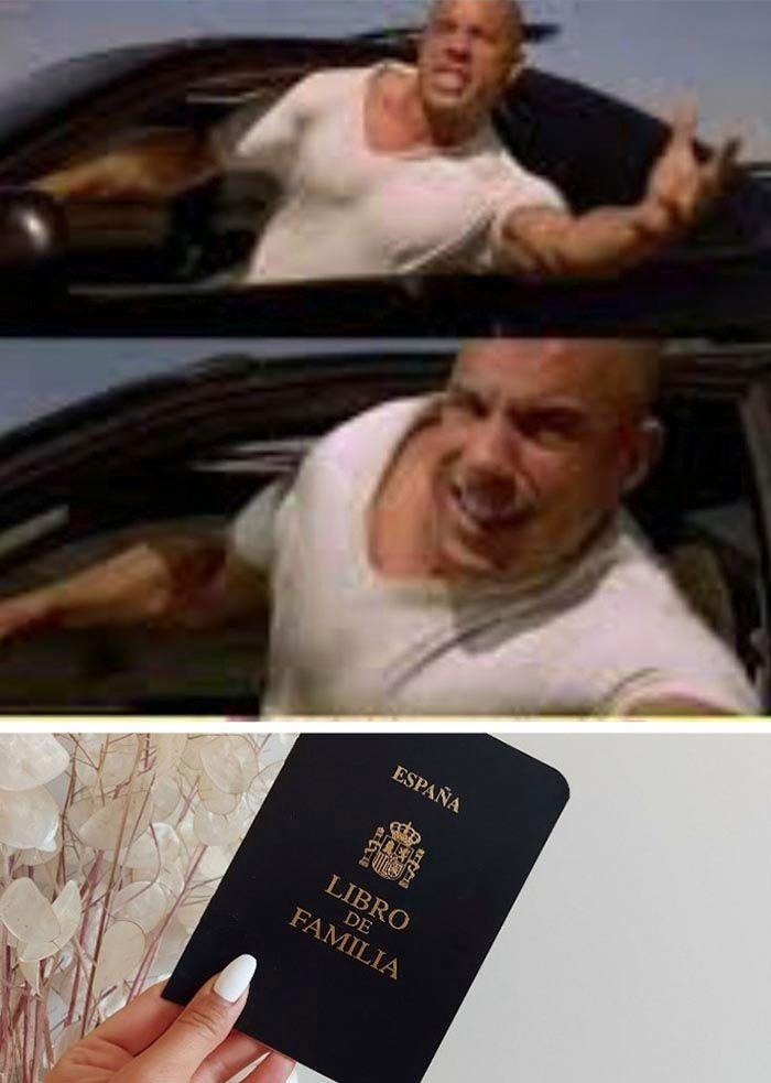 Toretto meme familia España