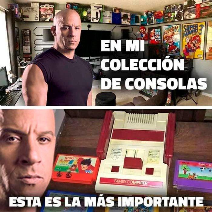 Toretto meme familia consola