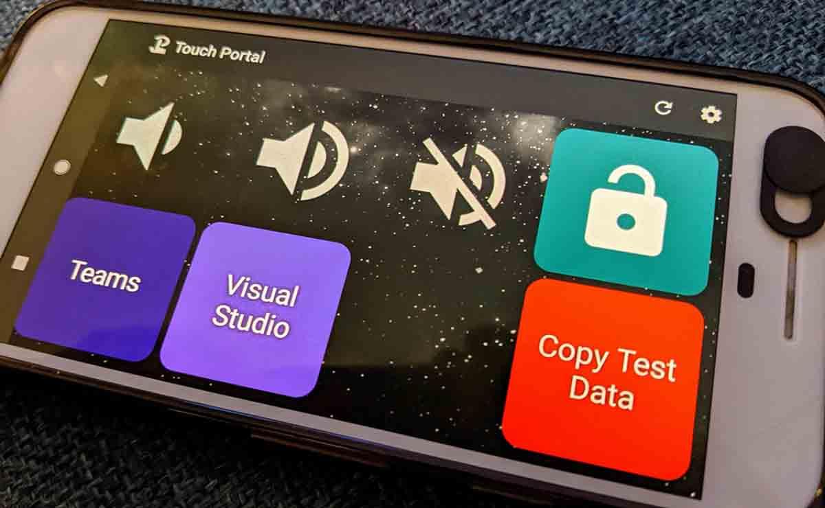 Touch Portal hacer móvil Stream Deck
