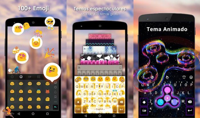 TouchPal teclado de emojis Android