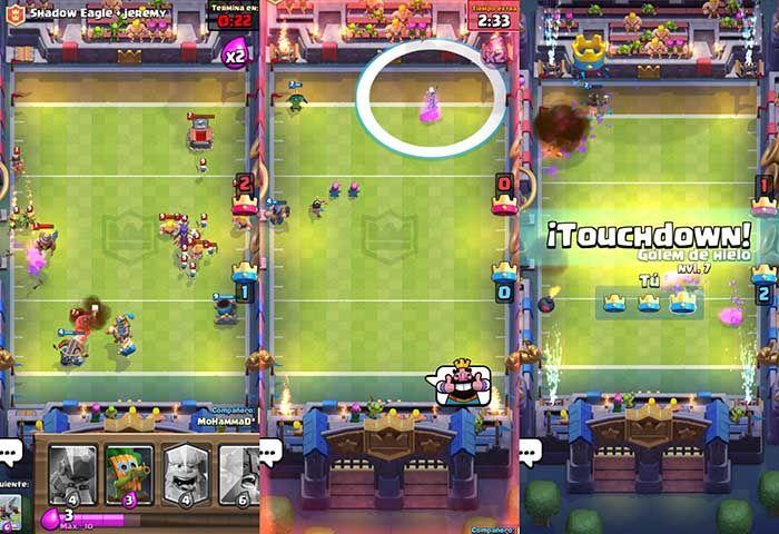 Touchdown Clash Royale trucos