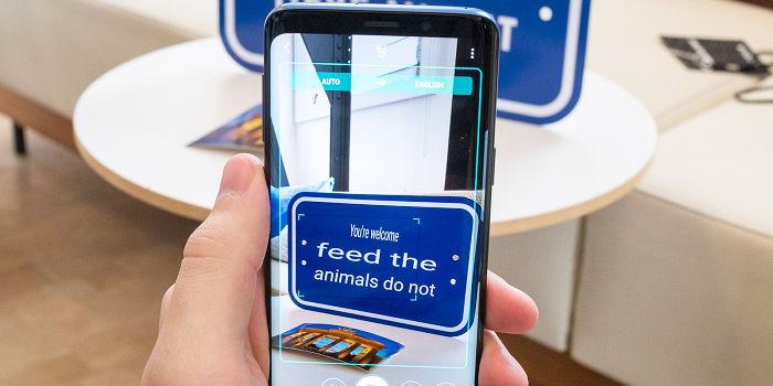 Traducir textos con cámara de móvil con Google Traductor