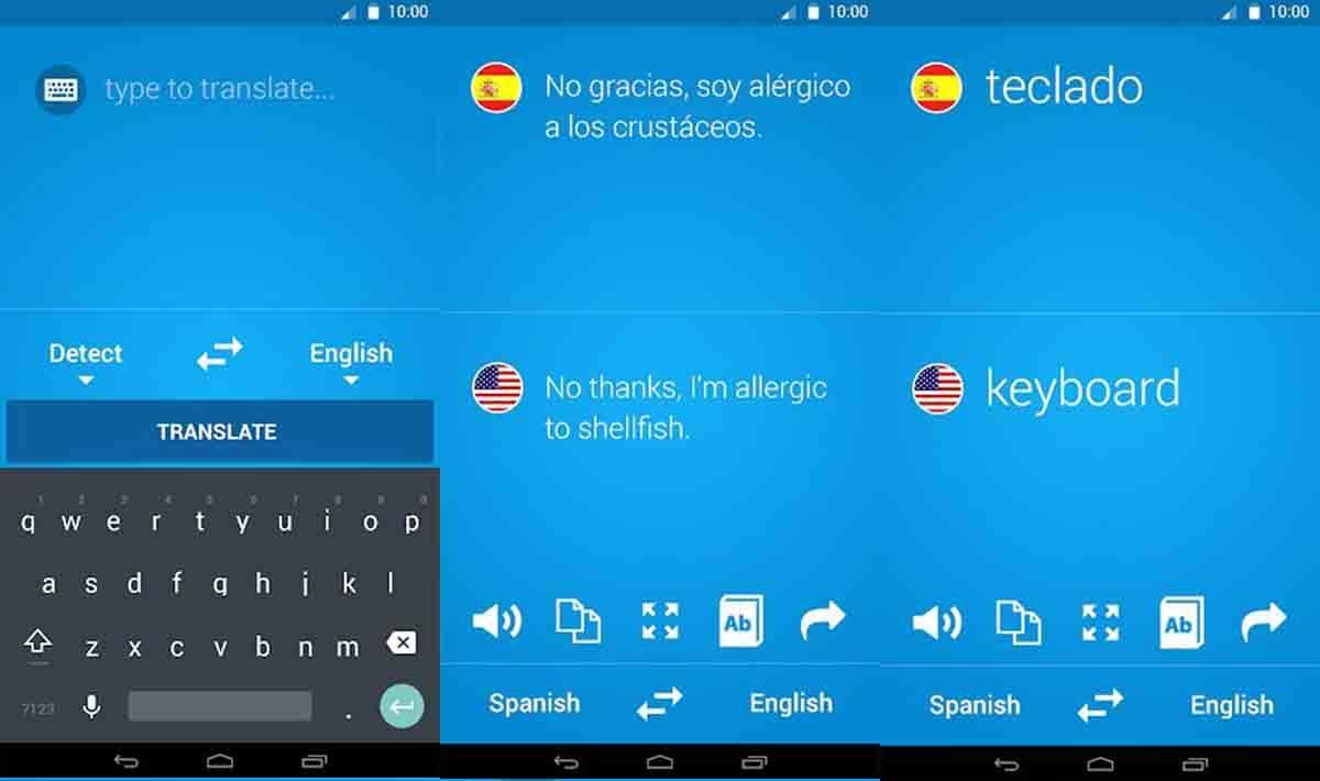 Tradukka mejor Linguee y Google Translate