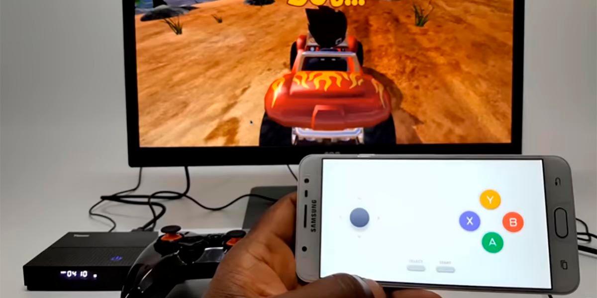 Transformar mando en gamepad para Android™ TV