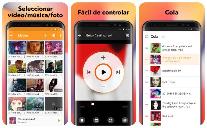 Transmitir a Smart TV Android App