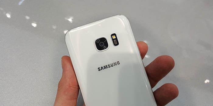 Trasera Galaxy S7 Blanco