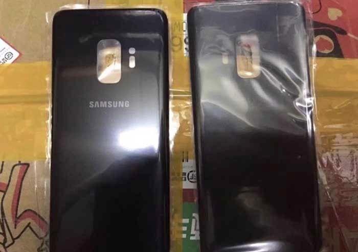 Trasera Galaxy S9