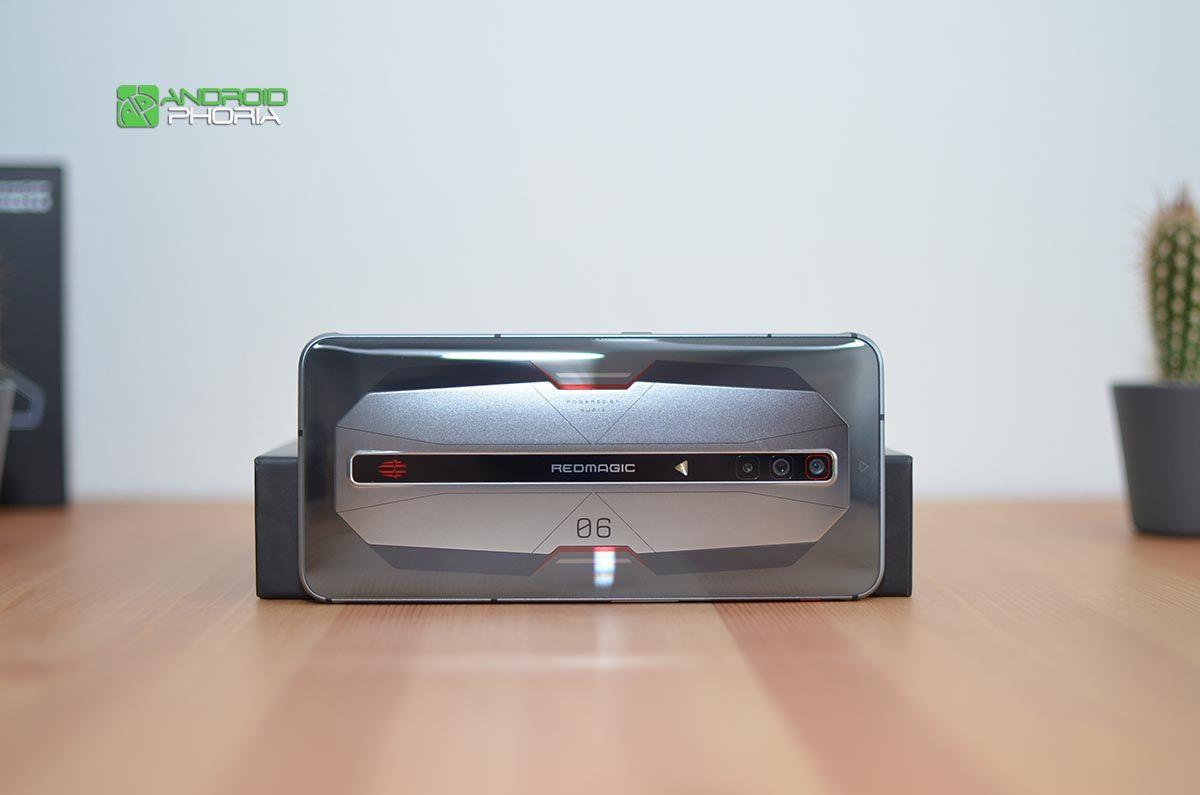 Trasera Red Magic 6 Pro