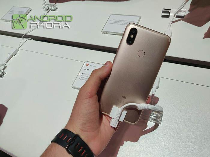 Trasera Xiaomi Mi A2