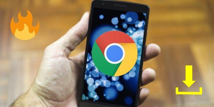Truco para descargar rapido con Chrome en Android