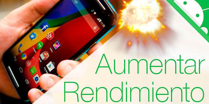 Trucos para aumentar rendimiento Android