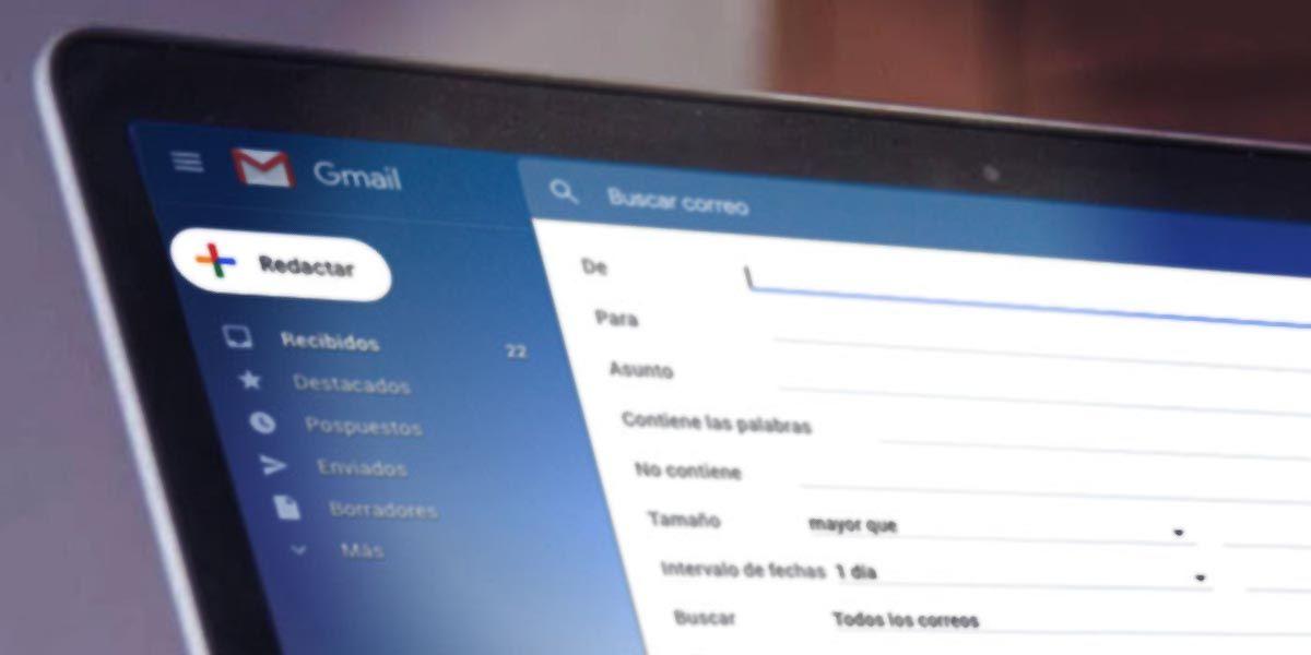 Tutorial de cómo crear filtros automáticos para tu bandeja de correo electrónico en Gmail