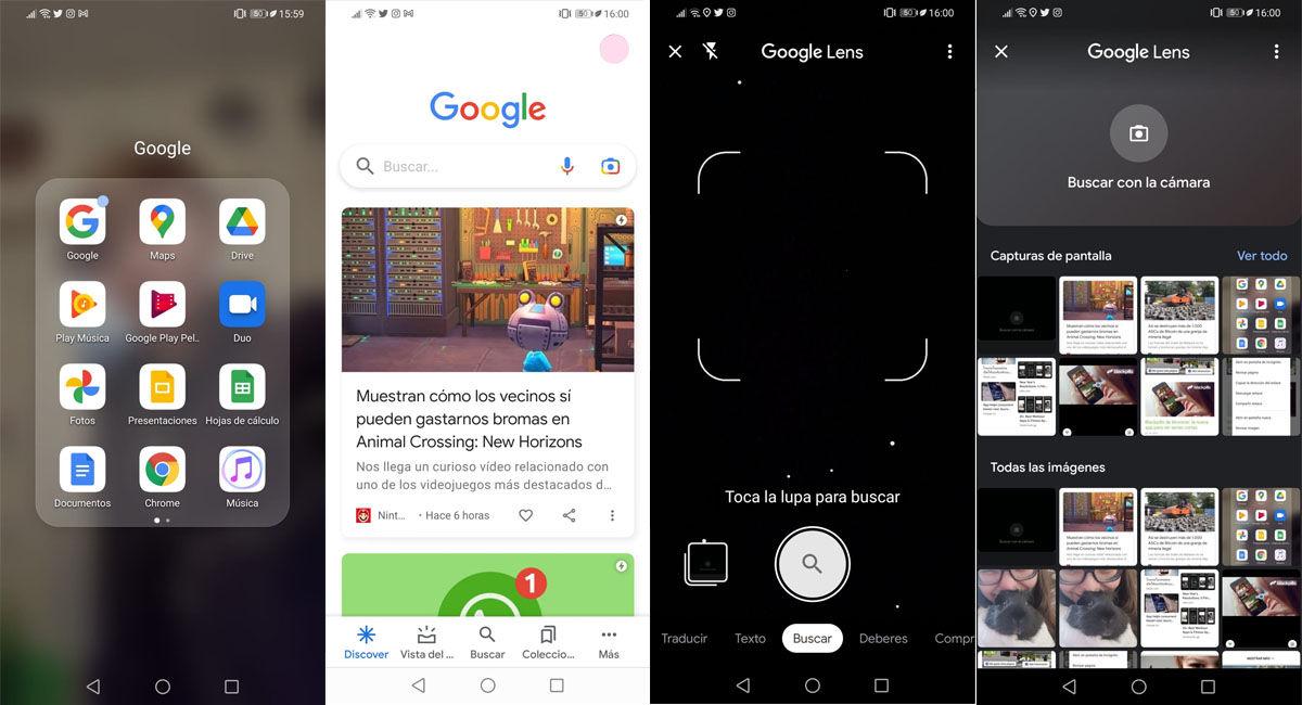 Tutorial para hacer la búsqueda inversa de fotos de tu galería en Android