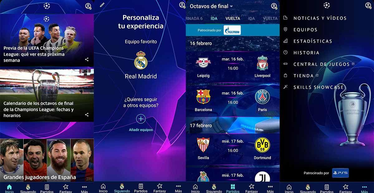 UEFA Champions League marcadores y noticias la app oficial