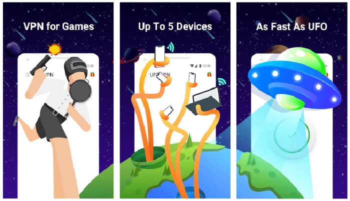 UFO VPN Basic para COD Mobile