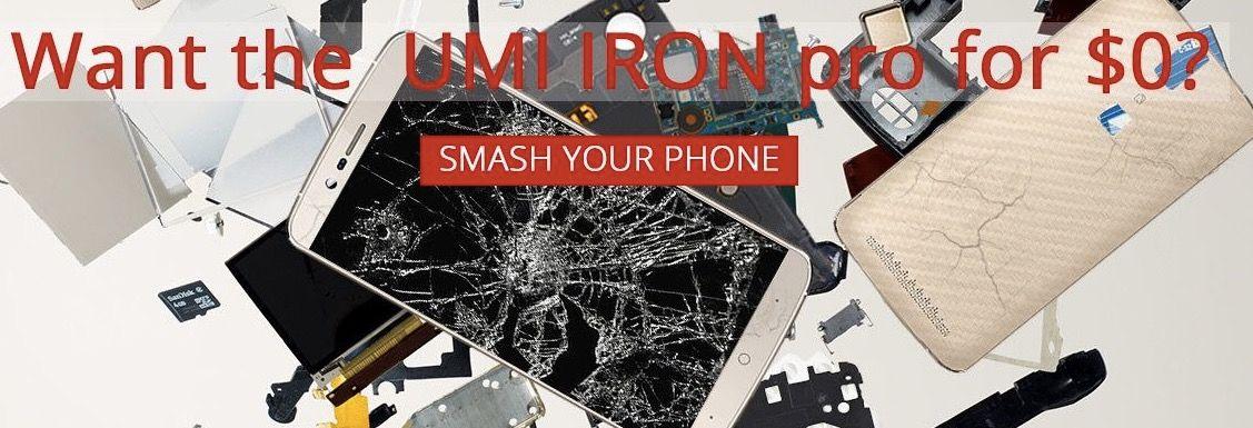 UMi regala un UMi Iron Pro si rompes Elephone P8000
