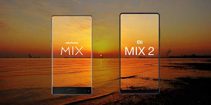 Ulefone MIX vs Mi Mix 2