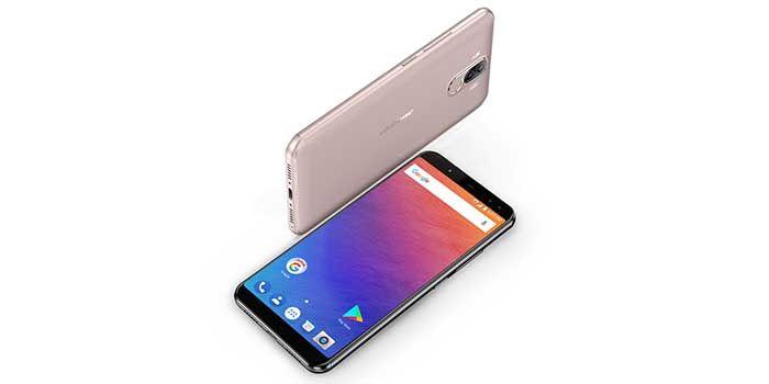 Ulefone Power 3 4 camaras Face ID