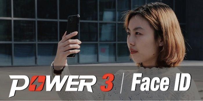 Ulefone Power 3 sistema de reconocimiento facial