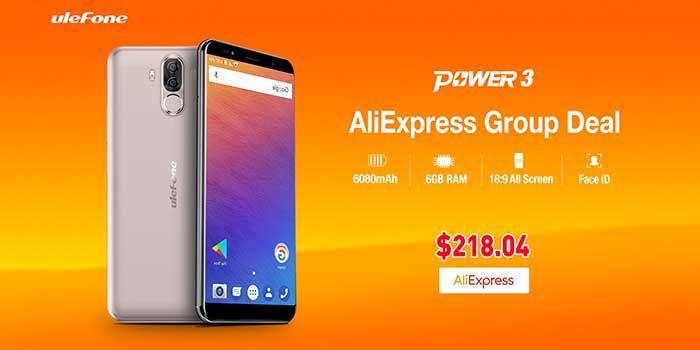 Ulefone Power 3 oferta AliExpress