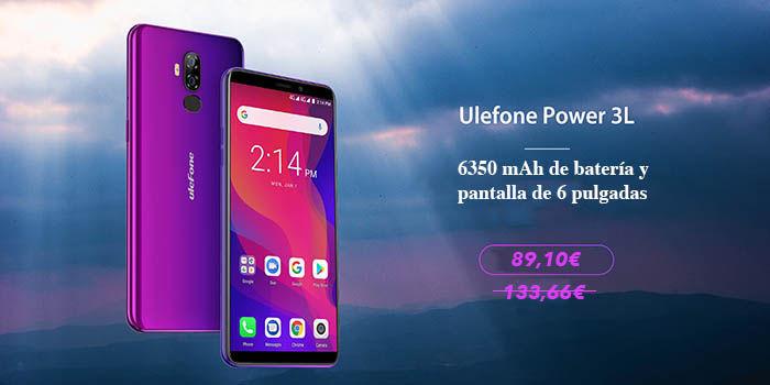 Ulefone Power 3L rebaja