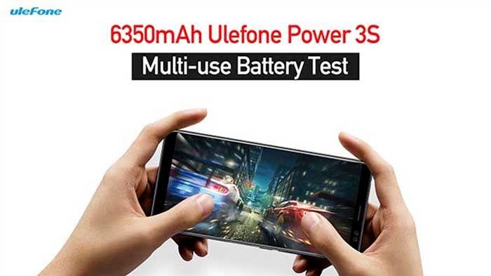 Ulefone Power 3S Test Bateria