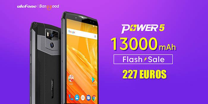 Ulefone Power 5 227 euros