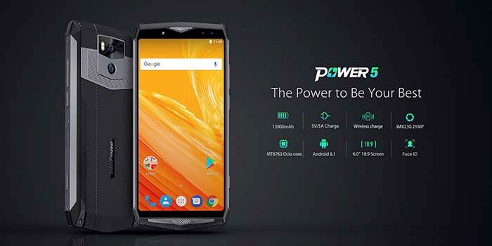 Ulefone Power 5 oficial