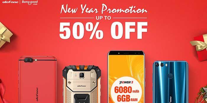 Ulefone Promocion Nuevo 2018