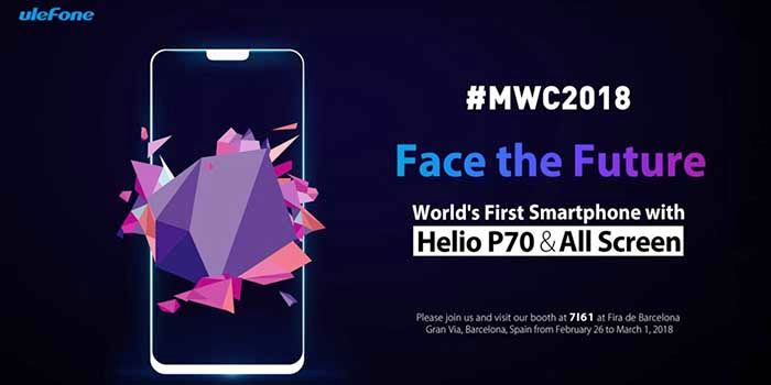 Ulefone T2 Pro MWC18