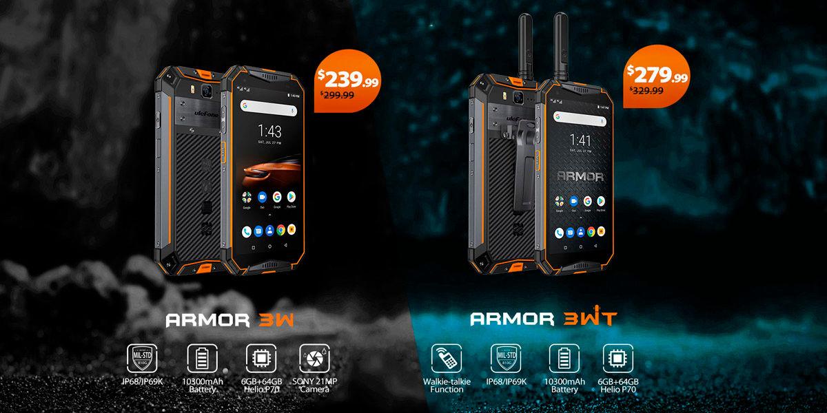 Ulefone armor 3w y 3wt comprar
