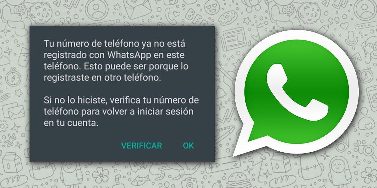 Un bug en la última actualización de WhatsApp para Android te hace cerrar sesión y no se debe al hackeo de tu cuenta