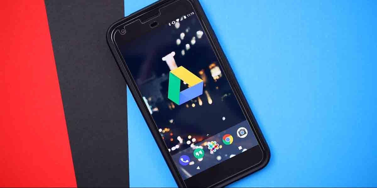 Un escáner ya integrado en tu móvil, Google Drive