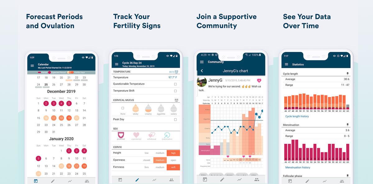 Una de las mejores apps para encontrar el momento ideal para el embarazo