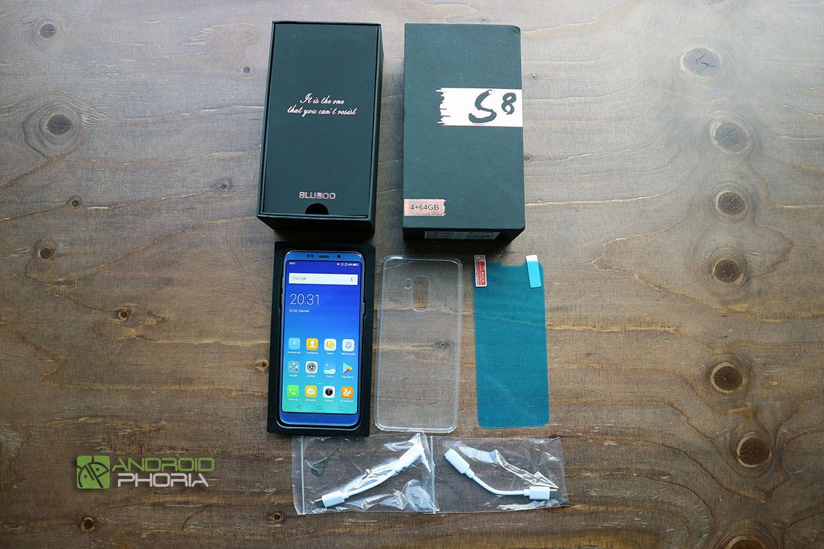 Unboxing Bluboo S8 Plus