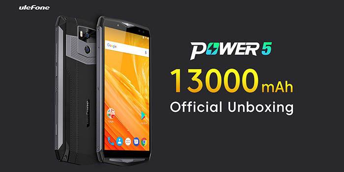 Unboxing Ulefone Power 5