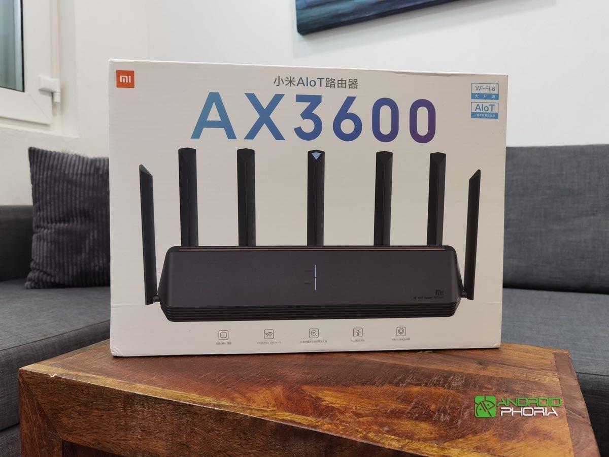 Unboxing Xiaomi AX3600