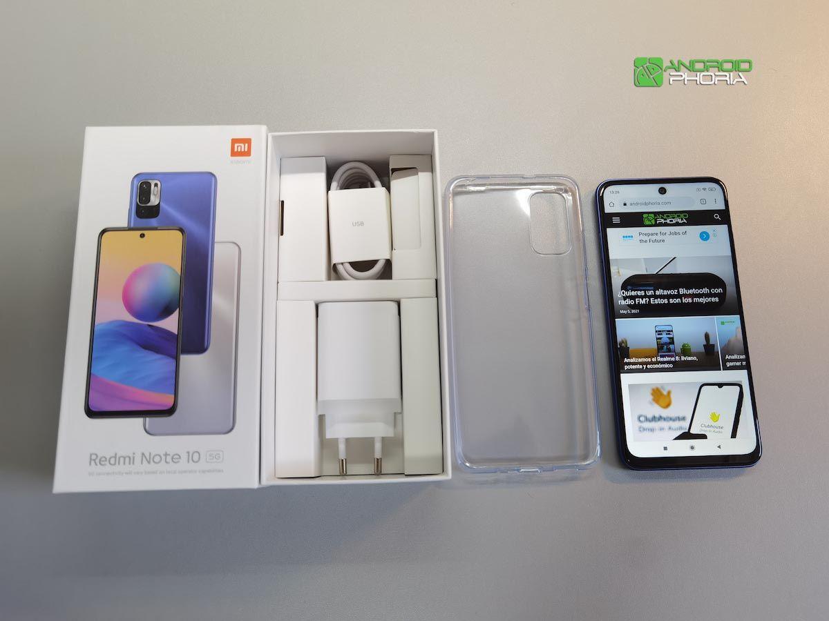 Unboxing Xiaomi Redmi Note 10 5G