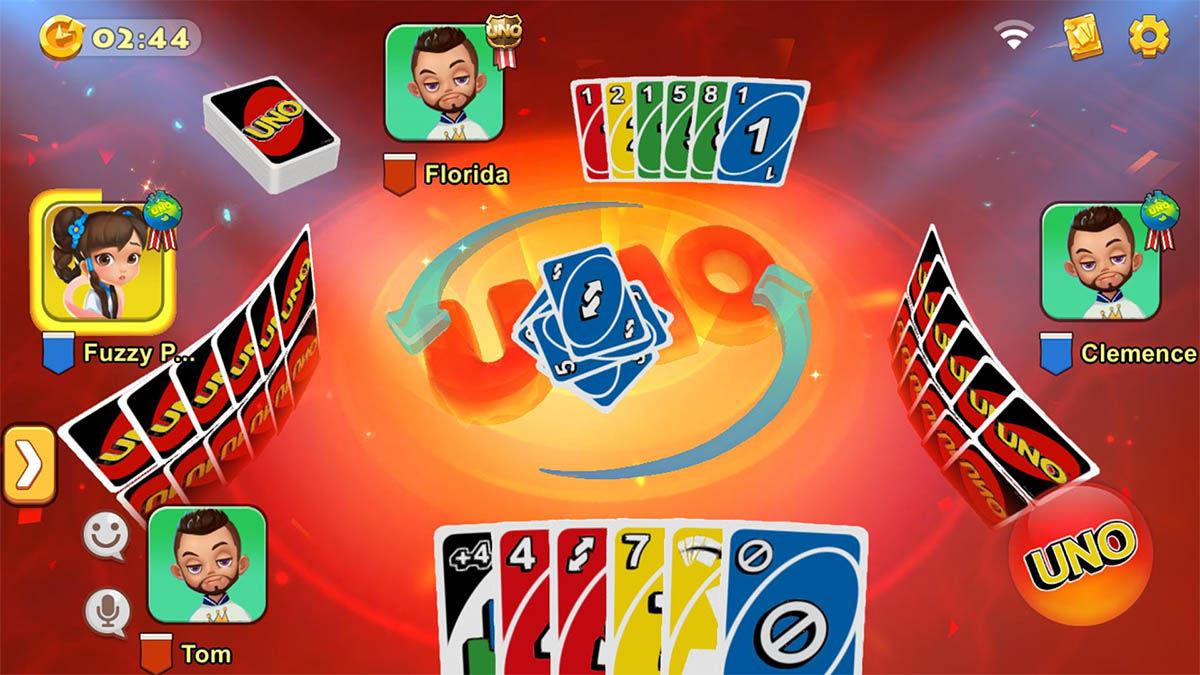 Uno! juego de cartas android