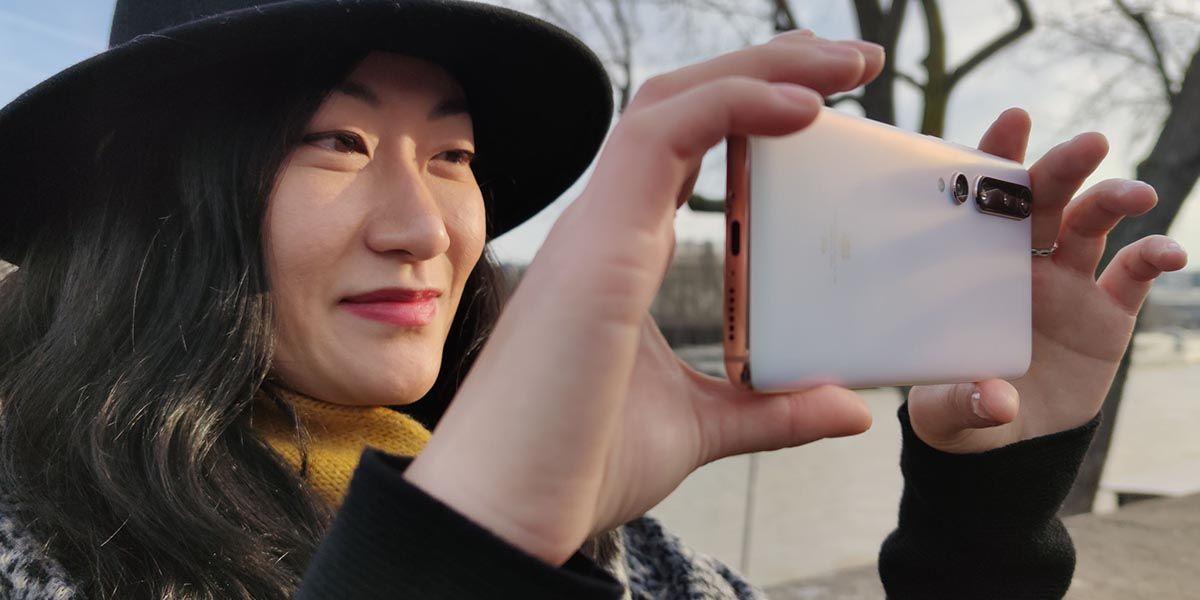 Usando el Xiaomi Mi 10